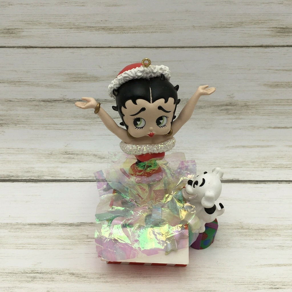 1997 Betty Boop Surprise Carlton Cards Christmas Ornament Sound  Boop-Oop-A-Doop - Piglet's Closet
