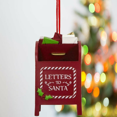 Hallmark Letters to Santa Mailbox Christmas Resin Gift Ornament - Piglet's Closet