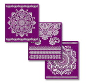 Mandala Silk Screen Stencil Set - Belles and Whistles by Dixie Belle - Piglet's Closet