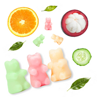 Happy Wax 8 oz Half Pound Teddy Bear Scented Wax Melts - Citrus Mix - Piglet's Closet
