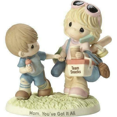 2017 Precious Moments Mom, You've Got It All Porcelain Figurine 173008 - Piglet's Closet