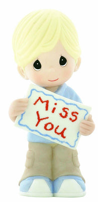 2009 Precious Moments Miss You Boy Figurine #930031 - Piglet's Closet