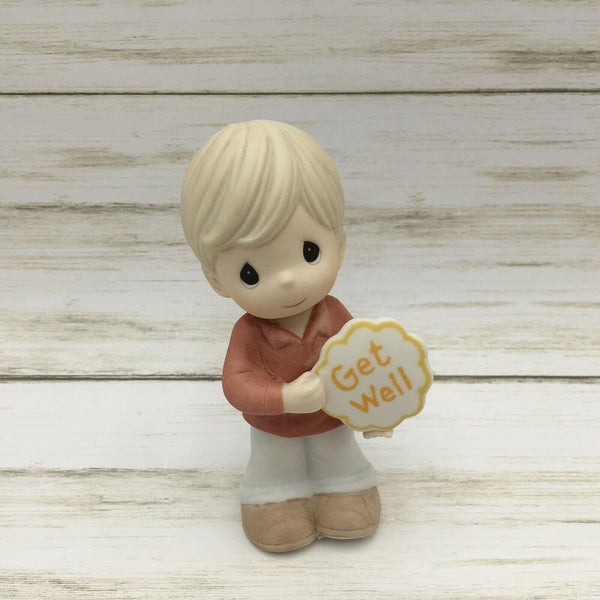 2010 Precious Moments Get Well Boy Figurine #103013 - Piglet's Closet