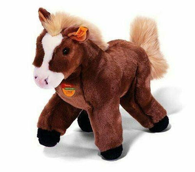Steiff Fenny The Horse Pony #072697 Plush Stuffed Animal - Piglet's Closet