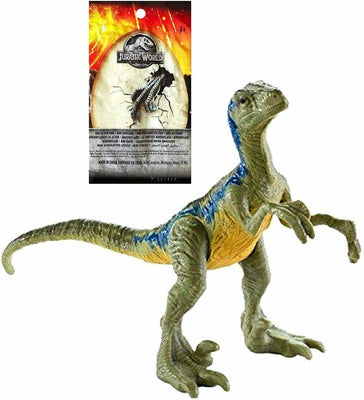 Jurassic World Fallen Kingdom Mini Dinosaur Blind Bag Velociraptor Blue Wave 1 - Piglet's Closet