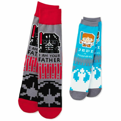 Star Wars Father Child Socks Gift Set Luke Skywalker Darth Jedi - Piglet's Closet