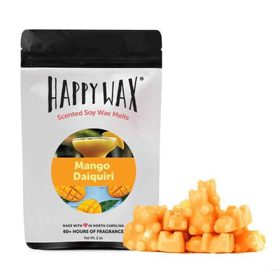 Happy Wax Mango Daquiri 2 oz Teddy Bear Scented Wax Melts - Piglet's Closet