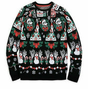 2019 Disney Mickey Mouse Light-Up Holiday Christmas Men's Sweater Size Small