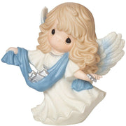 "2016 Precious Moments ""Guide Us To The Perfect Light"" Angel Figurine 161034 - Piglet's Closet"