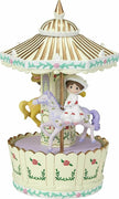 Precious Moments Disney Share the Gift Love Mary Poppins Musical Carousel 173111 - Piglet's Closet