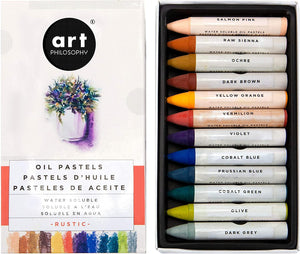 Art Philosophy Prima Watersoluable Oil Pastels - Rustic - Piglet's Closet