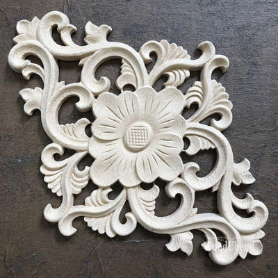 Woodubend Grand Baroque Centerpiece #2157 Moulding Furniture Applique - Piglet's Closet