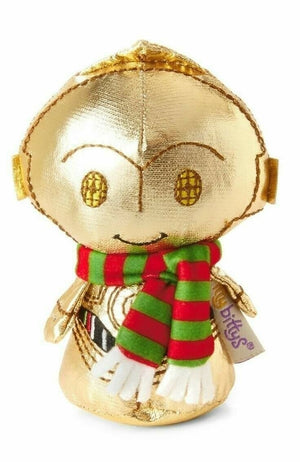 Hallmark Disney Star Wars Christmas C3PO Itty Bitty Plush - Piglet's Closet