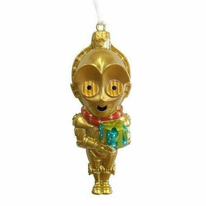 "2015 Hallmark Star Wars 3"" C3PO Big Head Resin Christmas Ornament - Piglet's Closet"