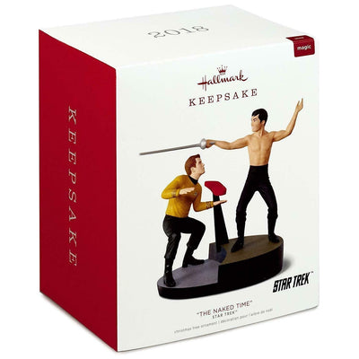 2018 Hallmark Keepsake The Naked Time Star Trek Magic Ornament - Piglet's Closet