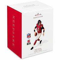 2018 Hallmark Matt Ryan NFL Football Atlanta Falcons Christmas Ornament - Piglet's Closet
