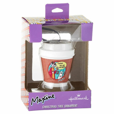 Hallmark Maxine Coffee Hot and Bothered Novelty Gift Ornament - Piglet's Closet