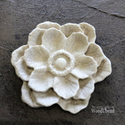 Woodubend Classic Multi Petal Flower #355 Moulding Furniture Applique - Piglet's Closet