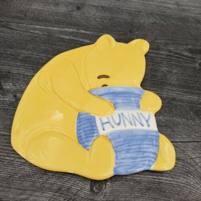 Treasure Craft Disney Classic Winnie Pooh Ceramic Honeypot Trivet - Piglet's Closet
