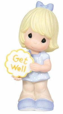 2010 Precious Moments Get Well Soon Figurine Girl #103010 - Piglet's Closet