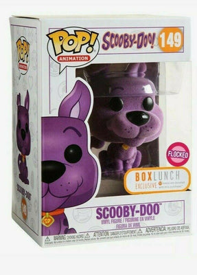 Funko Pop! SCOOBY DOO Purple Flocked BoxLunch Box Lunch Exclusive In Hand - Piglet's Closet