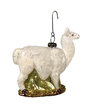 Bethany Lowe Designs Llama Vintage Glass Collection Ornament - Piglet's Closet