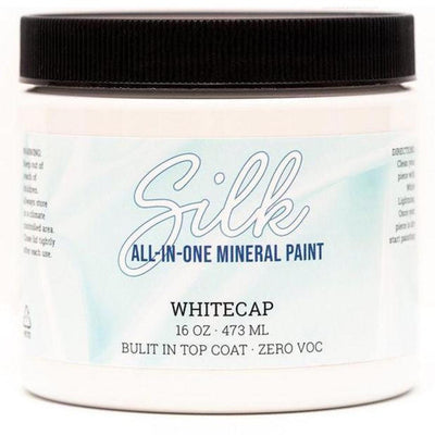 Silk All-in-One Mineral Paint by Dixie Belle - Whitecap - Piglet's Closet