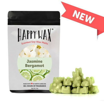 Happy Wax 2 oz Teddy Bear Scented Wax Melts - Jasmine Bergamont - Piglet's Closet