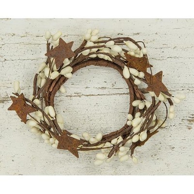 Primitive Ivory with Stars Pip Berry 2.75