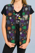2019 Disney Parks Mickey's Not So Scary Halloween Party Light Up Vest S/M