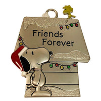 Hallmark Peanuts Snoopy & Woodstock Metal Doghouse Friends Forever Ornament - Piglet's Closet