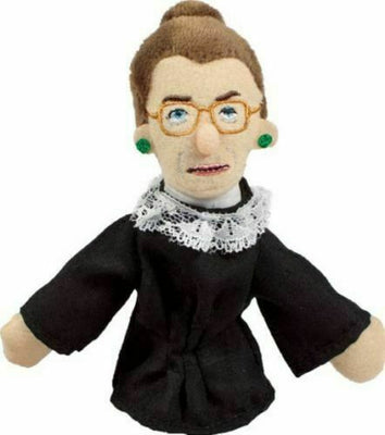 Ruth Bader Ginsburg Finger Magnetic Personality Puppet Magnet - Piglet's Closet