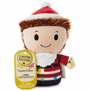 Hallmark Itty Bittys Clark Griswold Christmas Vacation Plush Limited Edition - Piglet's Closet
