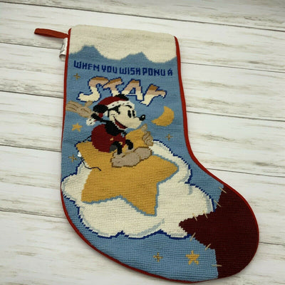 Midwest Disney Mickey Wish Upon A Star Christmas Stocking - Piglet's Closet