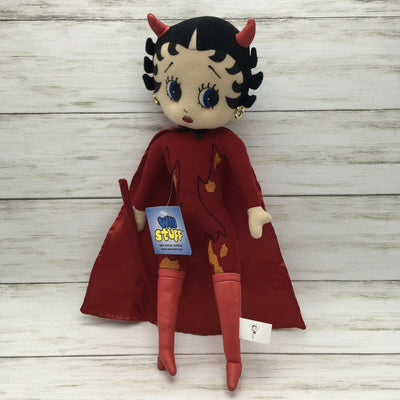 1999 Good Stuff Plush Betty Boop Devil King Features Syndicate 15