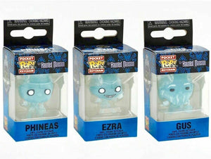 Funko Pocket Pop Disney The Haunted Mansion Ghost Keychain Set of 3 - Piglet's Closet