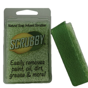 Scrubby Soap - Original Lime Natural Infused Tough Soap Scrubber - Piglet's Closet