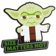 "Disney Star Wars Yoda ""Size Matters Not"" Wall Easel Decor - Piglet's Closet"