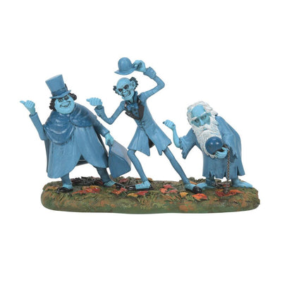 Dept 56 Haunted Mansion Beware of Hitchhiking Ghosts Village Figurine PREORDER - Piglet's Closet