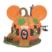 Dept 56 Disney Halloween Village - Mickey's Pumpkintown House PREORDER
