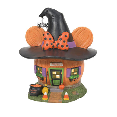Dept 56 Disney Halloween Village - Minnie's Pumpkintown House PREORDER