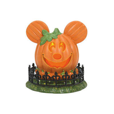 Dept 56 Disney Halloween Mickey's Town Pumpkin Center Village - PREORDER