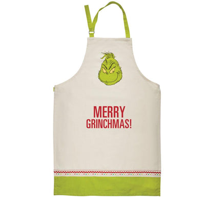 Merry Grinchmas The Grinch Christmas Apron - Piglet's Closet