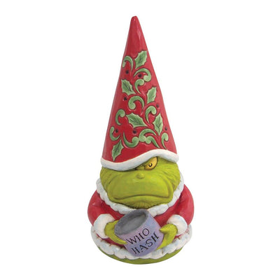 Jim Shore Grinch Gnome with Who Hash Christmas Figurine - Piglet's Closet