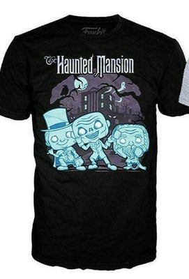 Funko Pop Target Disney Haunted Mansion Hitchhiking Ghosts Large L T-shirt - Piglet's Closet