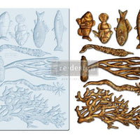 Re-Design by Prima Silicone Decor Mould - Coral Reef - Piglet's Closet
