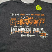 2019 Disney Mickey's Not So Scary Halloween Party Glow in the Dark S T-Shirt