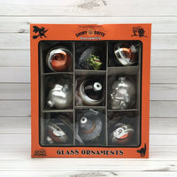 Christopher Radko Shiny Brite Halloween Witch Glass Ball Ornament Set of 9 #9 - Piglet's Closet
