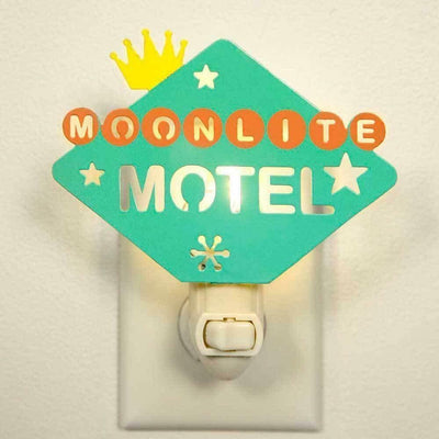 CTW Moonlite Motel Wall Night Light Metal Retro Room Lighting - Piglet's Closet