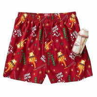 NEW A Christmas Story Boxers SMALL Sleep Shorts S w/ TIN It's a Major Award RED - Piglet's Closet
